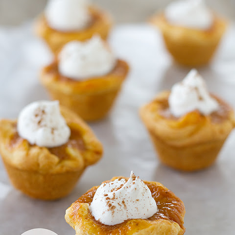 Mini Crescent Pumpkin Pies