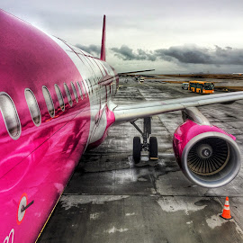 WOW Airlines, Keflavik by Alex Mednick - Transportation Airplanes
