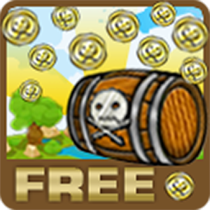 Pirate coin pusher 2D Free