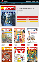 Screenshot of El Jueves revista