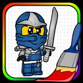 Game Coloring Book Ninjago Game APK for Windows Phone