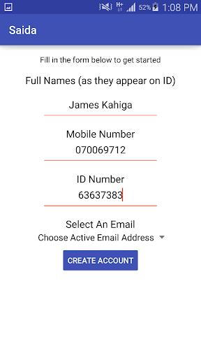 Saida - Loans to your M-Pesa screenshot 4