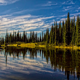 Mount Revelstoke National Park by Corey Yeatman - Landscapes Waterscapes ( water, reflection, national park, nature, lake,  )