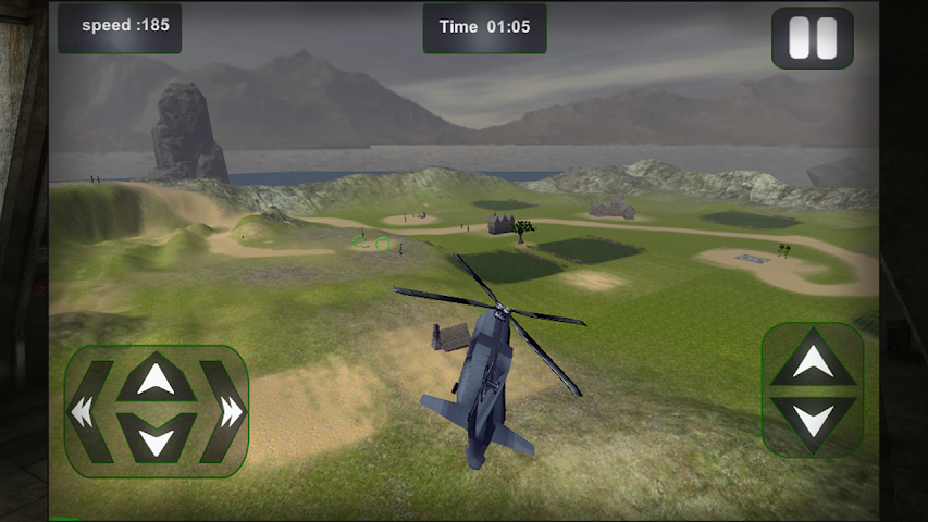 android Relief Cargo Helicopter Screenshot 6
