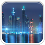 Dubai Night Live Wallpaper Icon