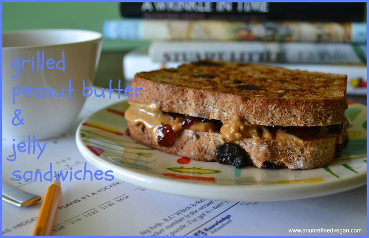 Grilled Peanut Butter & Jelly Sandwiches Recipe | Yummly