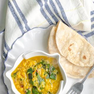 Lentil Dal Greens Recipes