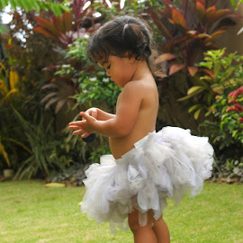 Playing Dress Up by Karen Johnstone - Babies & Children Children Candids