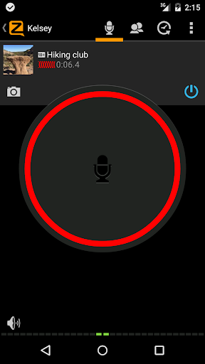 Zello PTT Walkie Talkie screenshot 1
