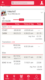 IRONMAN Track Fitness app screenshot for Android