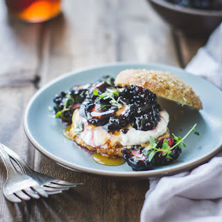 Ricotta Blackberry Shortcakes with Honey and Thyme {Gluten-Free}