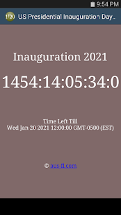 Presidential Inauguration 2021- screenshot thumbnail