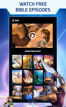 Superbook Bible, Video & Games APK screenshot thumbnail 18