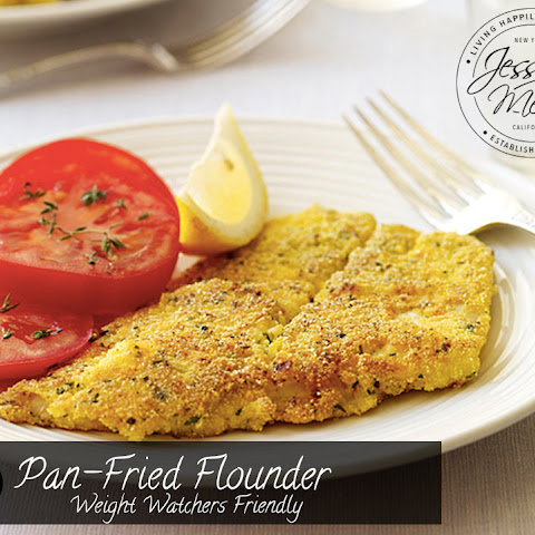 Pan-Fried Flounder