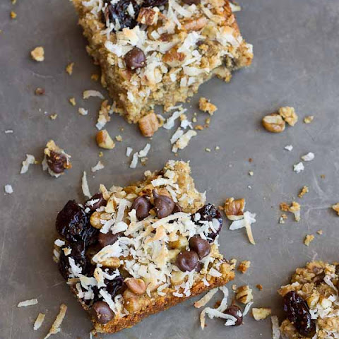 Soft Baked Oatmeal Chocolate Chip Bars