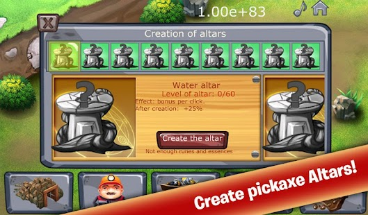 Clicker Mine Idle Tycoon- screenshot