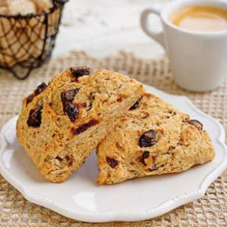 Chocolate-Cherry Scones