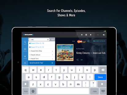 App SiriusXM apk for kindle fire