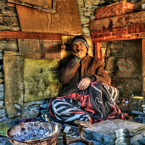 Village Life.. by Veeresh Pathania - People Portraits of Men