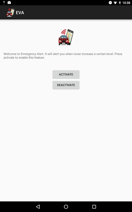Emergency Vehicle Alert App Screenshot 4