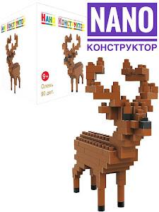 """Nano Конструктор """"Животные"""" олень"""
