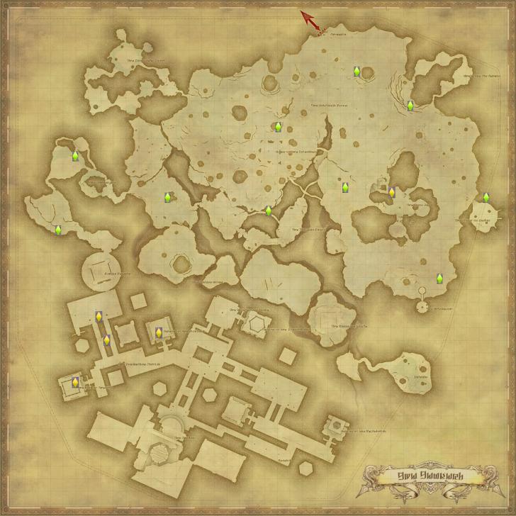 テンペスト 風脈の泉 地図