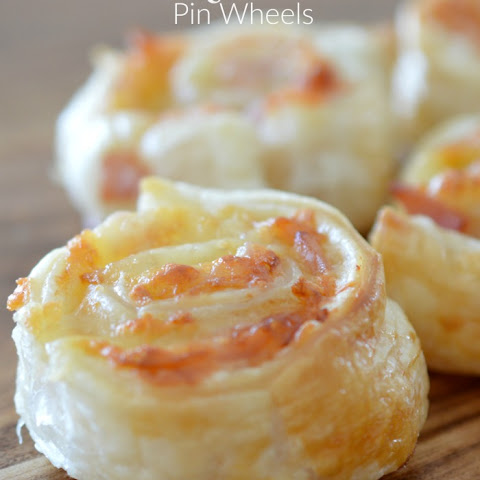 Bacon and Cheese Pinwheels