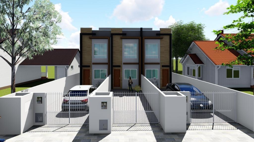Sobrado com 2 dormitórios à venda, 68 m² por R$ 185.000,00 - Praça - Tijucas/SC