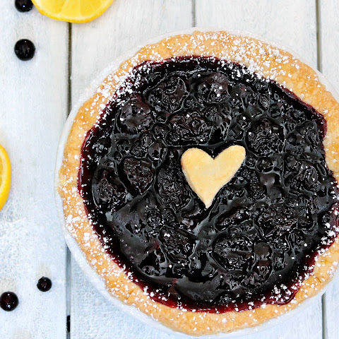 Easy Blueberry Pie or Tartlet
