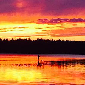 God is working OT !!!! by Danny Caffrey - Landscapes Sunsets & Sunrises