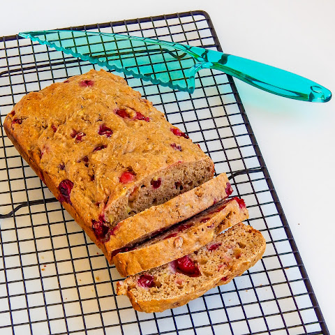 Cranberry Yogurt Banana Bread
