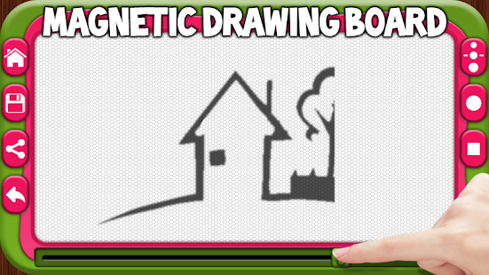Magnetic drawing board - screenshot