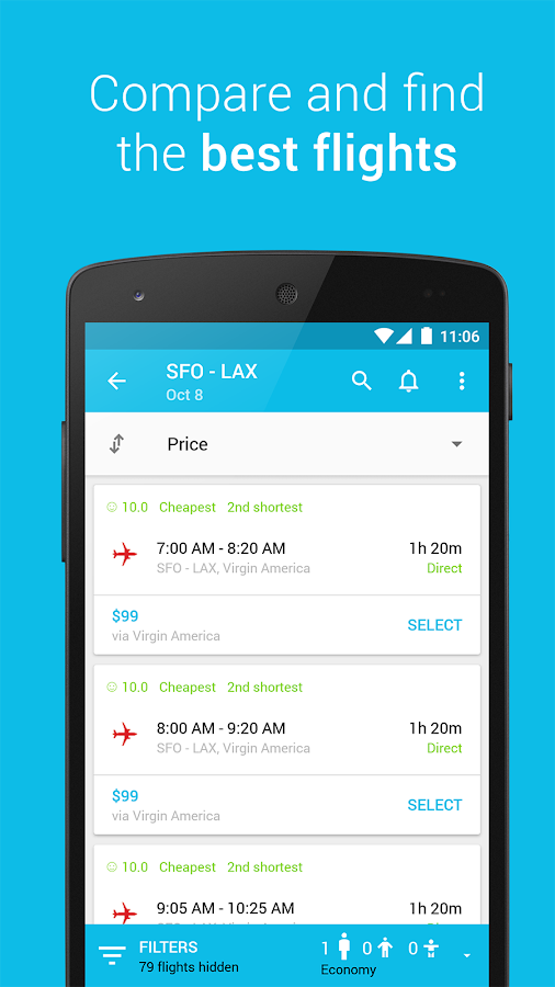 Skyscanner Screenshot 0