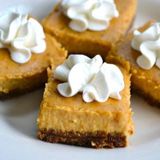 No Bake Pumpkin Cheesecake Bars Recipes