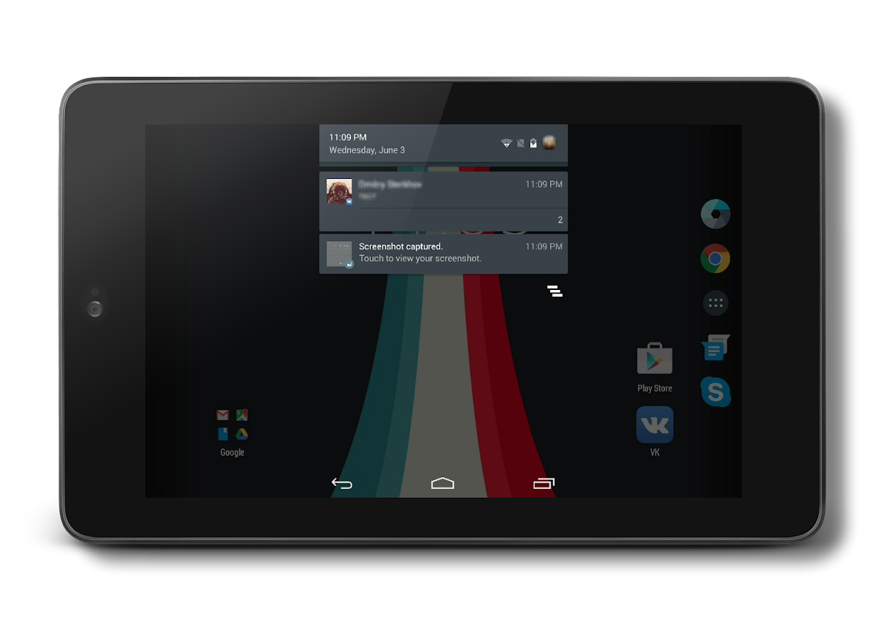 AOSP Dark Material CM13 THEME Screenshot 9