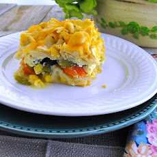 Chicken Pot Pie Lasagna