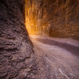 Closed Canyon Glow by Dan Howard - Landscapes Caves & Formations ( desert, canyon, landscape )