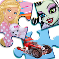 Mattel Fun with Puzzles APK for Bluestacks