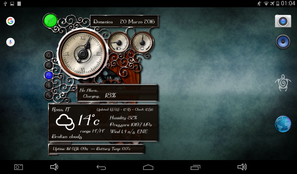 XtraOClock Steampunk Widget Screenshot 11