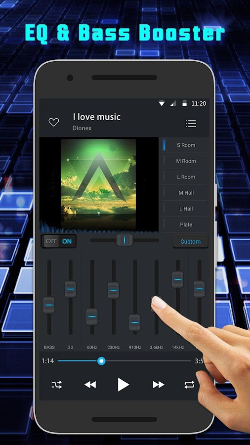 Equalizer Music Player Pro Screenshot 1
