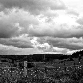 cloud bowl by Rachel Rachel - Landscapes Weather ( clouds, mountains )