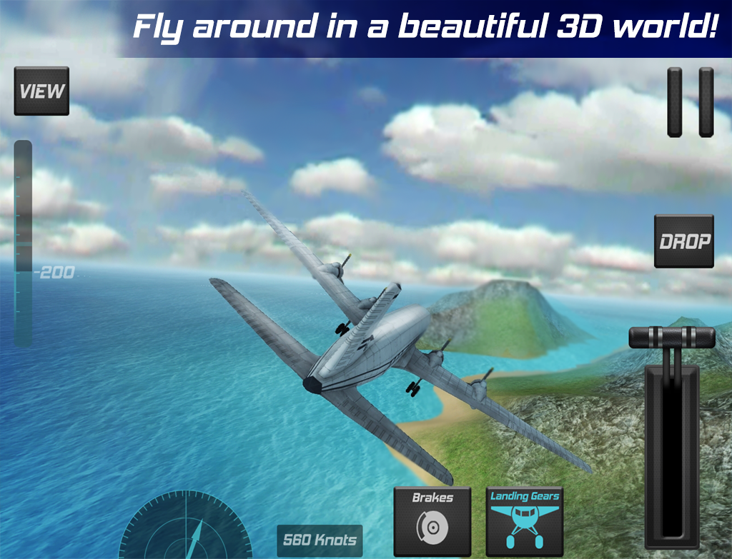 Real Pilot Flight Simulator 3D Screenshot 10