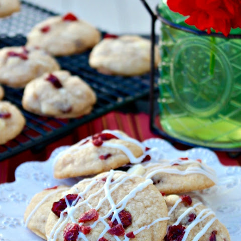 Macadamia Cranberry White Chocolate Cookies