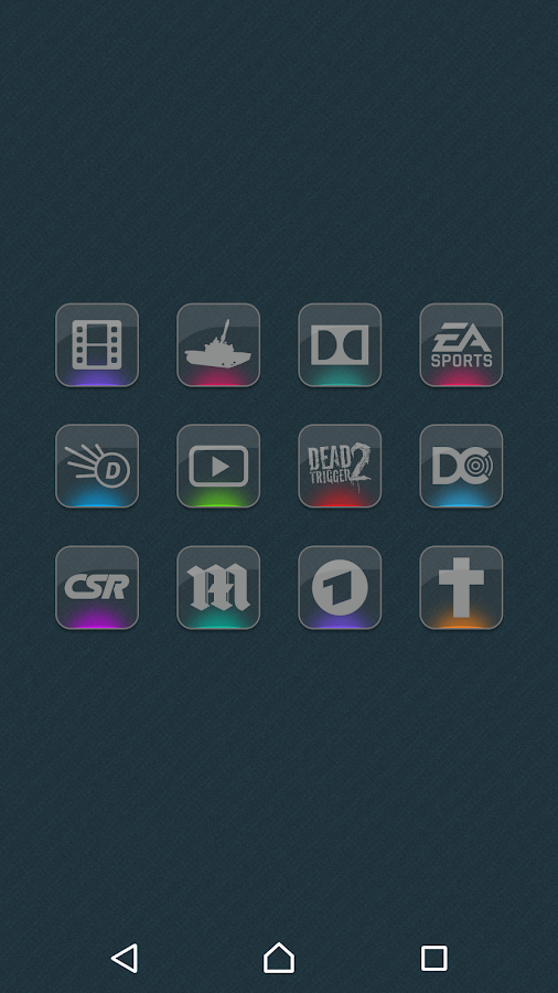 Color Gloss - Icon Pack Screenshot 3