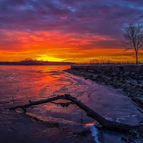 Majestic Sunrise by Mike Hotovy - Landscapes Sunsets & Sunrises (  )
