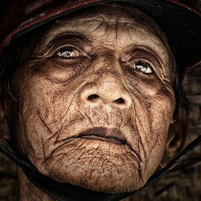 by Lucky E. Santoso - People Portraits of Men ( senior citizen, face, people )