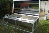Commercial Unit open lid Hog Roast Machine - By The London Hog Roast Company