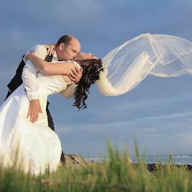Wind by Lodewyk W Goosen (LWG Photo) - Wedding Bride & Groom ( wedding photography, wedding photographers, wedding day, wedding, wedding photographer, bride and groom, wedding destination, bride, groom, bride groom )