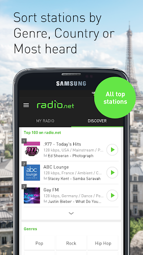 Radio.net PRIME - screenshot
