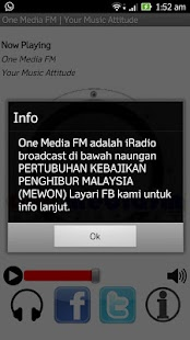 One Media FM - screenshot